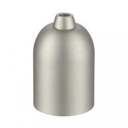 Metalfatning børstet E27